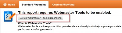 Integrera Google Analytics med Google Webmaster Tools